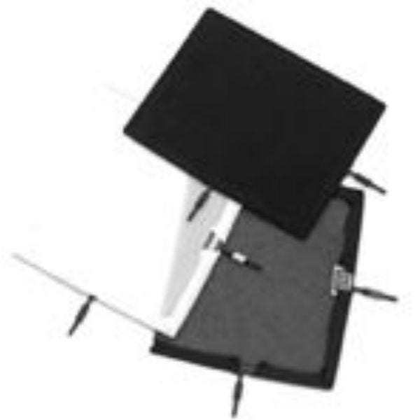 "Matthews Studio Equipment Flex Scrim - 12"" x 20"" - Artificial Silk - White 238224"