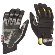 Dirty Rigger Black Protector Gloves - Small