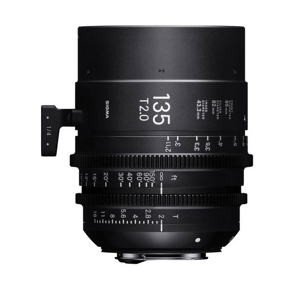 Sigma 135mm T2.0 FF High-Speed Prime - EF Mount