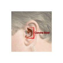 Filmtools Ear Mold Piece for Motorola Radio Surveillance Kit