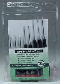 Wiha Precision Hex Driver Set (8) INCHES