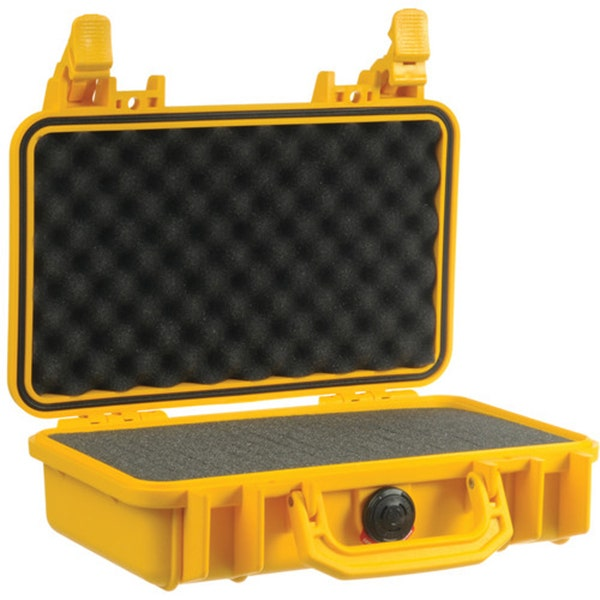 Pelican 1170 Case with Foam - Yellow