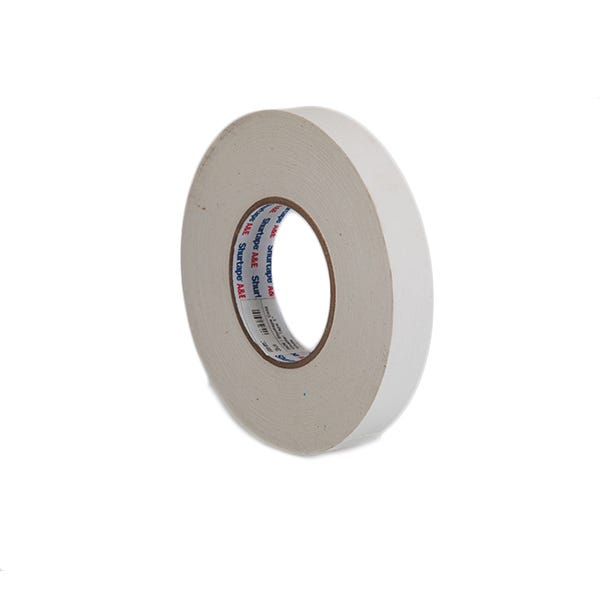 """Shurtape 1"""" Gaffer Tape Cold Weather (Camera Tape) - White"""