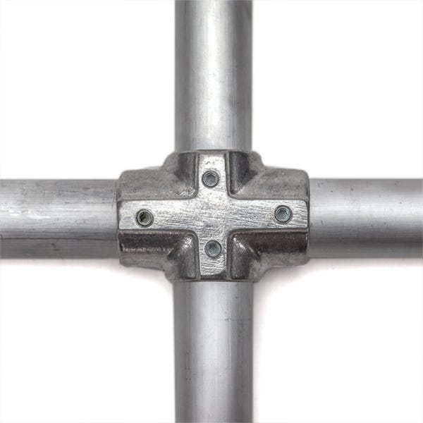 "Hollaender 1-1/4"" Speedrail Fitting Number 7 Offset Cross"
