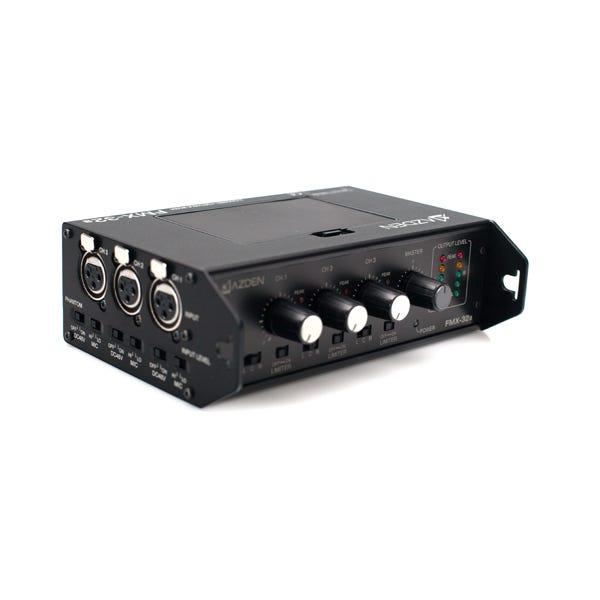 Azden FMX-32a 3-Channel Portable Mixer