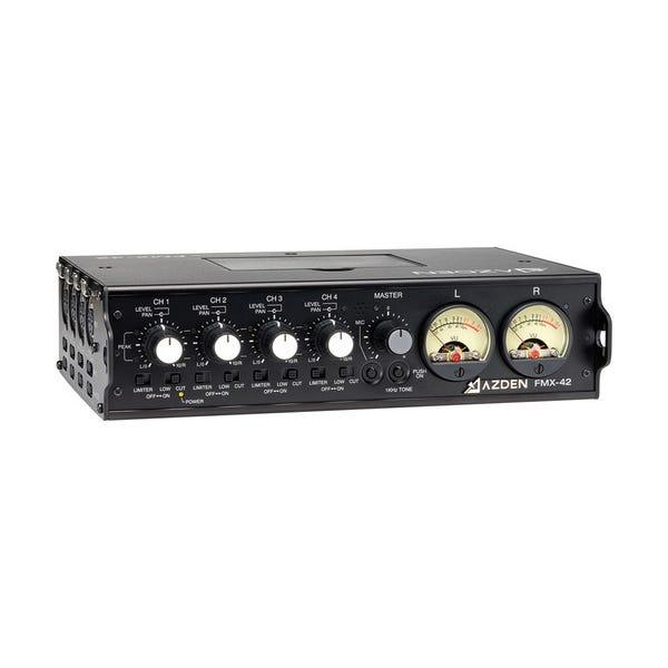Azden FMX-42 4 Channel Field Mixer