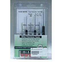 Wiha Precision 6 Piece Torx Set #26790