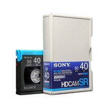 Sony 40 Minute HDCAM SR Video Tape - Small