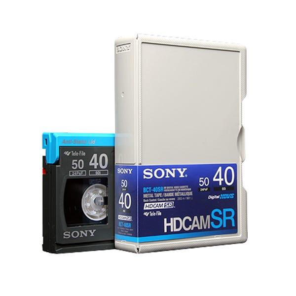 Sony 40 Minute HDCAM SR Video Tape - Small