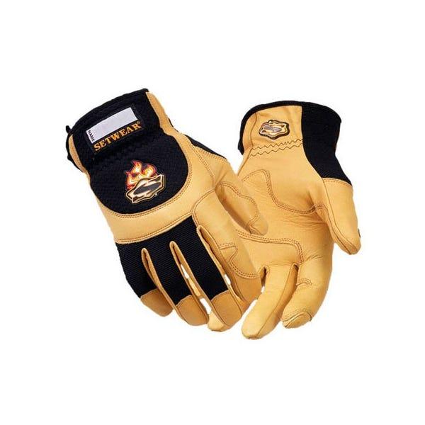 Setwear Pro Tan Leather Gloves - X-Large