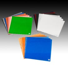 """LEE Filters 10 x 12"""" Quick Location Lighting Filter Sheet Pack - 24 Sheets"""