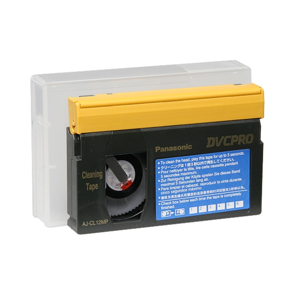 Panasonic AJ-CL12MP DVCPRO Cleaning Tape