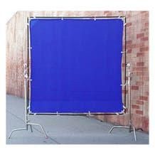 Matthews Studio Equipment 6 x 6' Butterfly/Overhead Fabric - Blue Screen