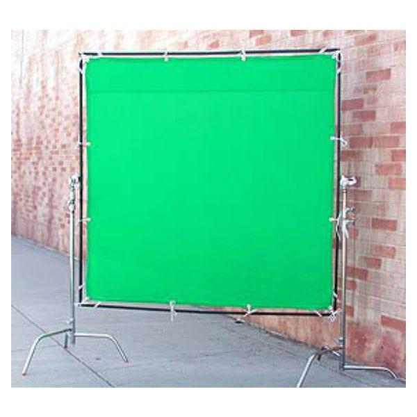 Matthews Studio Equipment 6 x 6' Butterfly/Overhead Fabric - Green Screen