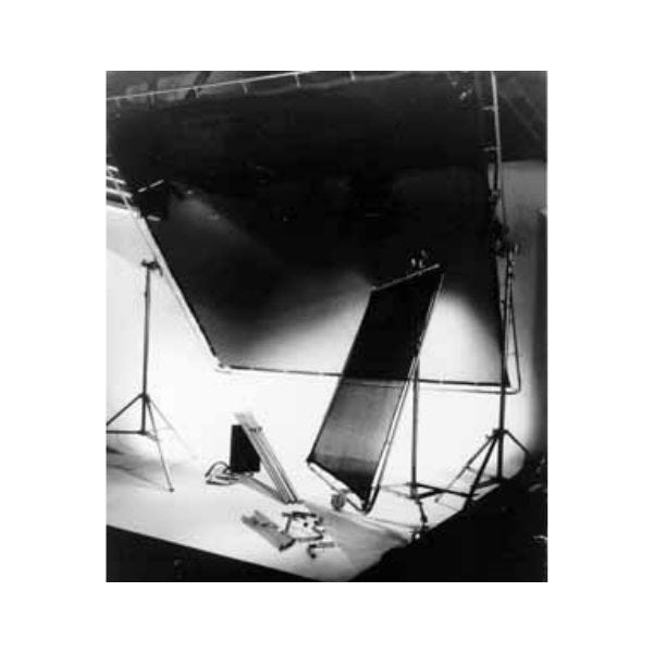 Matthews Studio Equipment 8 x 8' Butterfly/Overhead Fabric - Checkerboard Lame