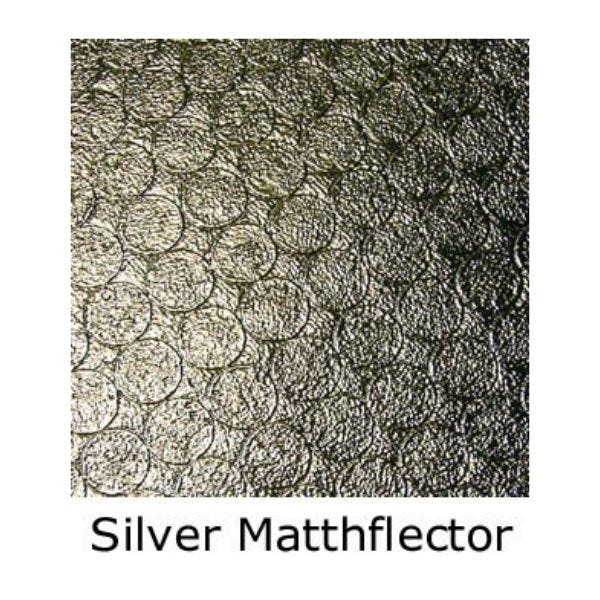 Matthews Studio Equipment 8 x 8' Butterfly/Overhead Fabric - Silver Matthflector