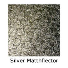 Matthews Studio Equipment 12 x 12' Butterfly/Overhead Fabric - Silver Matthflector