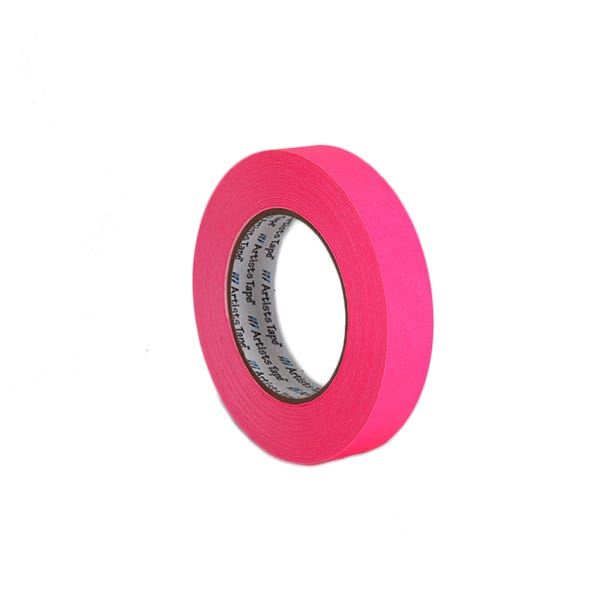 "ProTapes 1"" Artist's Paper Tape - Fluorescent Pink"