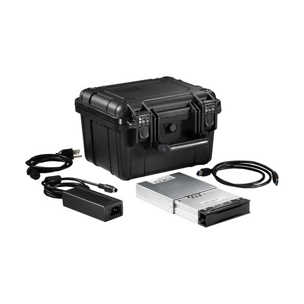 CRU DataPort Digital Cinema Kit 3 with DCP Movedock USB 3.0/eSATA Carrier