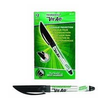 Dixon Ticonderoga Fine Point Vis-Aid Overhead Projection Marker - Black