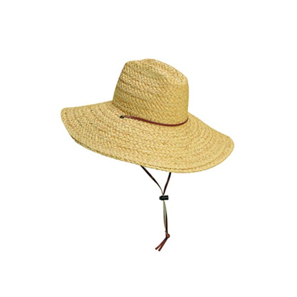 Dorfman Pacific Lifeguard Scala Straw Hat - Small / Medium