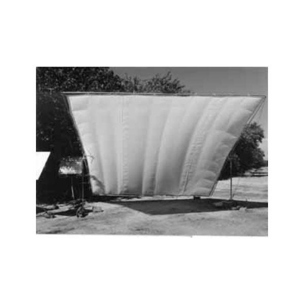 Matthews Studio Equipment 20 x 20' Butterfly/Overhead Fabric - Silver Grifflector