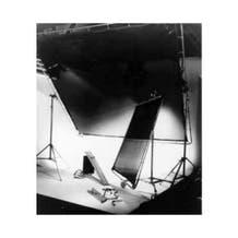 Matthews Studio Equipment 20 x 20' Butterfly/Overhead Fabric - Silent Frost