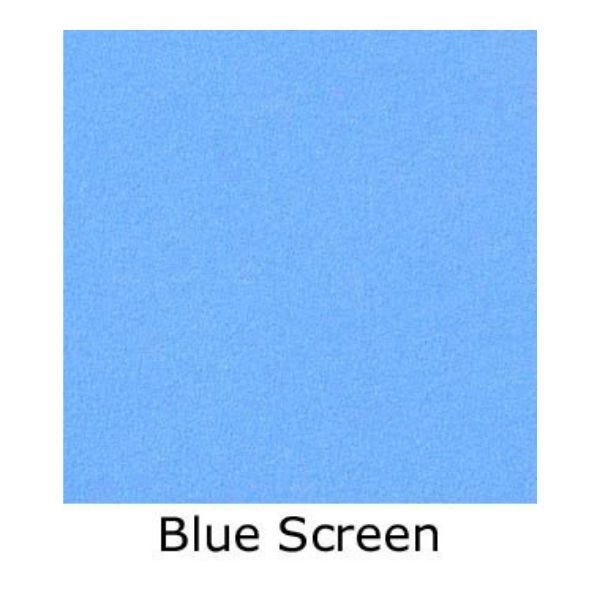 Matthews Studio Equipment 20 x 20' Butterfly/Overhead Fabric - Blue Screen