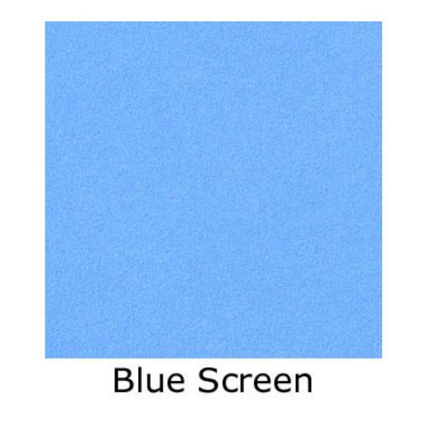 Matthews Studio Equipment Butterfly/Overhead Fabric - Blue Screen (Various)