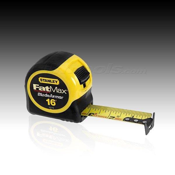Stanley FatMax Tape Measure (Various Lengths)