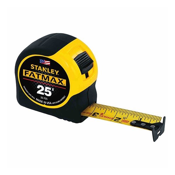 Stanley FatMax Tape Measure - 25ft
