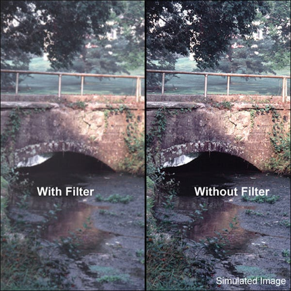 "Tiffen 5.65 x 5.65"" Pro-Mist 1/8 Filter"