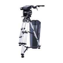 Miller Skyline 90 HD 1-Stage Alloy Tripod System with Off-Ground Spreader