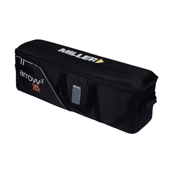 Miller Arrowx Softcase 2 Stage for Sprinter II and Toggle 2 Stage Tripod Systems-Black