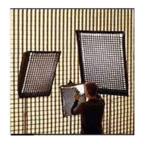 "Chimera Lighttools 54 x 72"" Soft Egg Crate for Large Lightbanks - 40 Degrees"