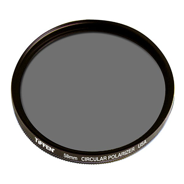 Tiffen 58mm Circular Polarizer Filter
