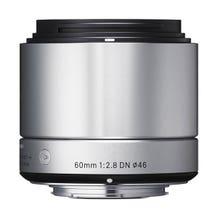 Sigma 60mm f/2.8 DN Lens - E Mount (Silver)