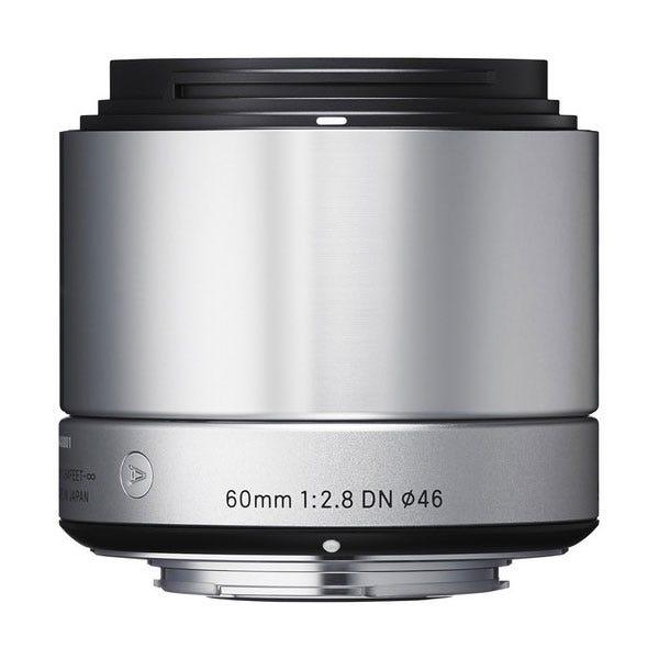 Sigma 60mm f/2.8 DN Lens - E-Mount (Silver)