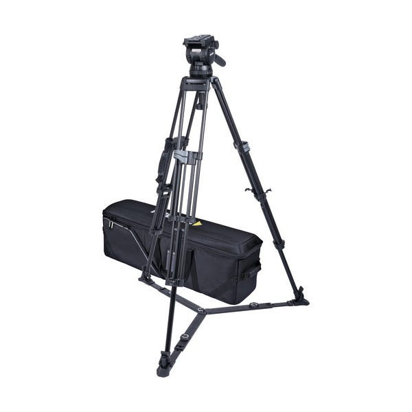 Miller CX10 Sprinter II 2-Stage Alloy Tripod System with Ground Spreader