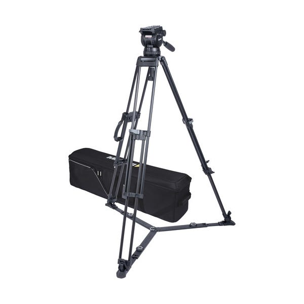 Miller CX10 Sprinter II 1-Stage Alloy Tripod System with Ground Spreader
