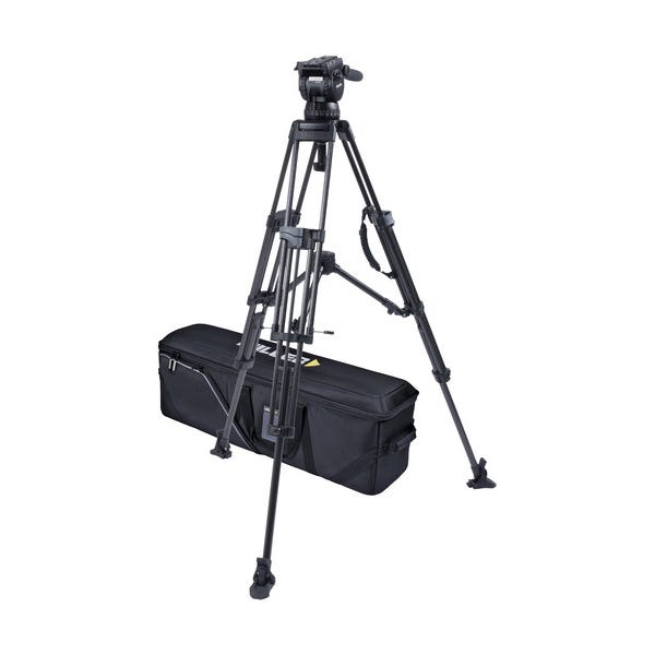 Miller CX10 Sprinter II 2-Stage Carbon Fiber Tripod System with Mid-Level Spreader