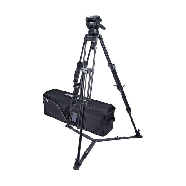 Miller CX18 Sprinter II 2-Stage Alloy Tripod System with Ground Spreader