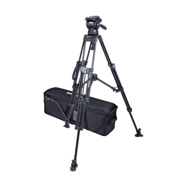 Miller CX18 Sprinter II 2-Stage Alloy Tripod System with Mid-Level Spreader