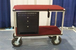 Filmtools 24x48 Senior Video Monitor Cart