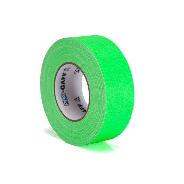"""Pro-Gaff 2"""" Gaffer Tape - Fluorescent Green"""