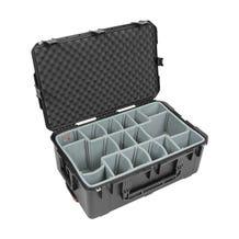 SKB iSeries 2918-10DT Waterproof Case with Think Tank-Designed Photo Dividers & Lid Foam (Black)