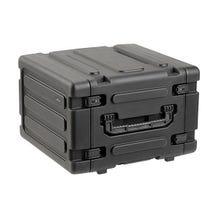 "SKB 6U Roto Shock Mount Rolling Rack Case - 20"""