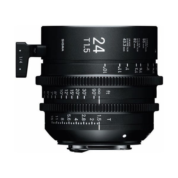 Sigma 24mm T1.5 FF High-Speed Prime - EF Mount