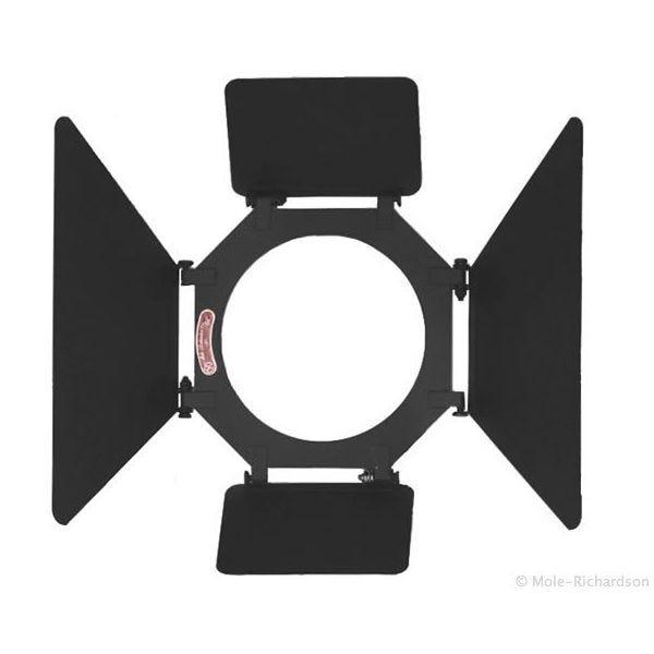 """Mole 4 Way / 4 Leaf Barndoor Light-Shield 7 3/16"""""""