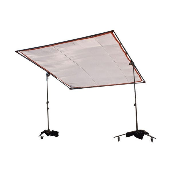 "Matthews Studio Equipment 6 x 6' Butterfly/Overhead Hollywood Frame - 1"" Square Tubing"